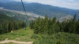 Silver Mountain Gondola in Kellogg, Idaho