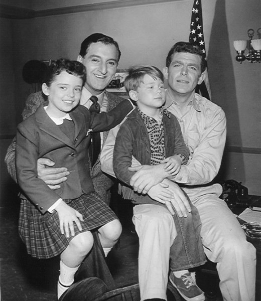 The andy griffith show joining andy were 5 year old ronny howard as andys son andrew jackson opie taylor jr the late frances bavier as andys aunt bee who raised andy from altavistaventures Choice Image